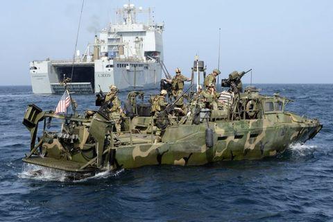 Water, Marines, Naval ship, Team, Ship, Military organization, Boat, Machine, Watercraft, Military vehicle,