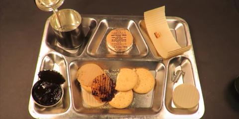 Food, Ingredient, Metal, Cuisine, Meal, Kitchen utensil, Dish, Breakfast, Snack, Baked goods,