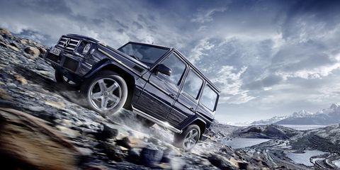 "<p>The G-wagen has been around since 1979 and it's an icon. Up until 2013, it was offered with a folding roof. However, though the convertible is down, it's not out: <a href=""http://autoweek.com/article/car-news/do-american-buyers-want-mercedes-g-wagen-convertible-back"" target=""_blank"">Reports say</a> that the German automaker wants to revive it at some point in the future. Imagine a G65 AMG Cabriolet.</p>"