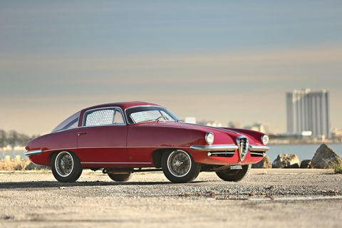 """<p><strong>Estimate</strong>: $1,400,000 - $1,800,000</p><p>Click <a href=""""http://goodingco.com/vehicle/1955-alfa-romeo-1900c-ss/"""">here</a> for more information. </p>"""