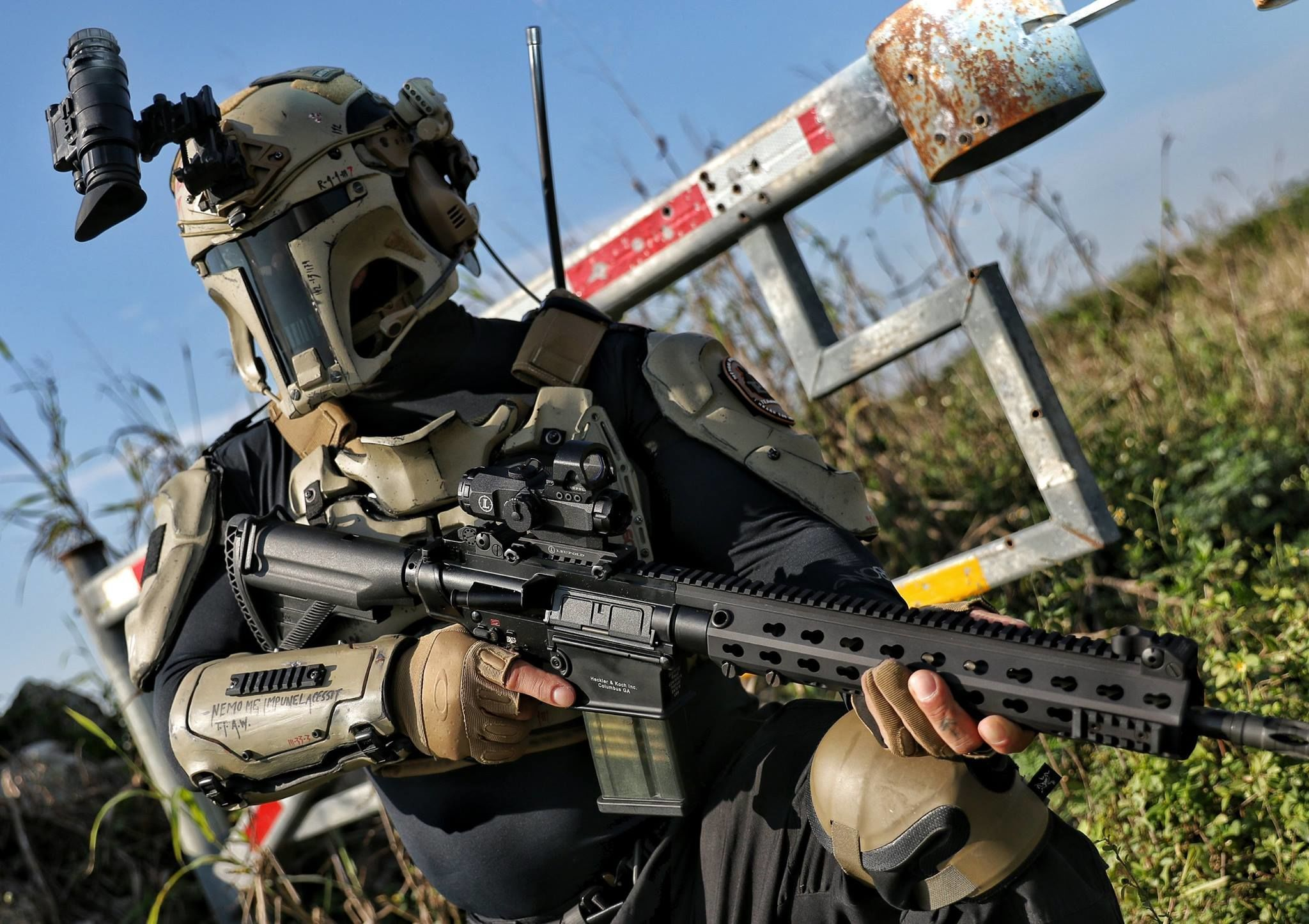 Real-Life 'Star Wars' Ballistic Armor Protects You From Actual Bullets