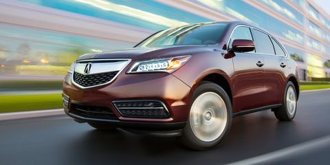 """<p>You can criticize Acura for its lack of inspiring sedans all you want, but you can't argue that Honda's luxury brand doesn't have the SUV formula down. The Lexus RX and Cadillac SRX beat the MDX in sales last year, <a href=""""http://www.goodcarbadcar.net/2016/01/usa-luxury-suv-crossover-sales-figures-december-2015-year-end.html"""" target=""""_blank"""">but that was it</a> in the midsize luxury SUV segment. We doubt speed was a factor for most buyers, but for a mostly uninspiring crossover, <a href=""""http://www.caranddriver.com/acura/mdx"""" target=""""_blank"""">its 5.9-second 0-60 time</a> is much faster than we expected.</p>"""