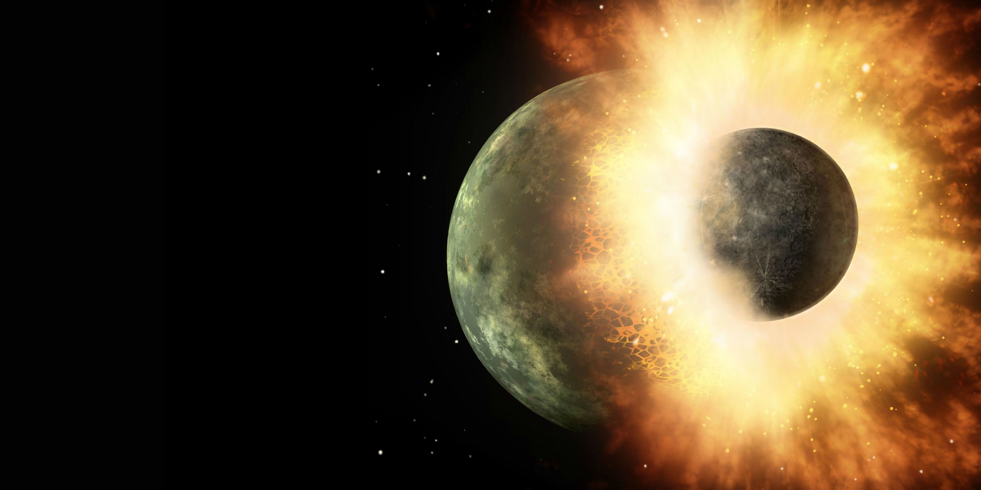 Scientists Find Strong Evidence That the Earth Was Hit Head-On by a Mars-Sized Planet