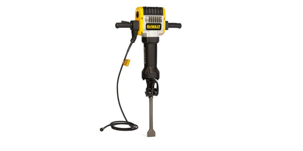 This Is What a DeWalt D25980 Jackhammer Looks Like