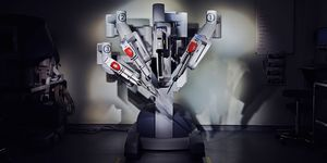 02.01.2013 - the da Vinci robot, designed to facilitate complex surgery using a minimally invasive approach.