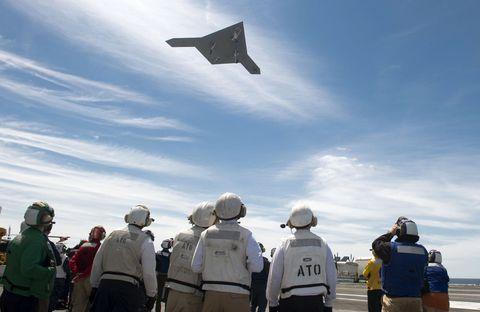 Sky, Cloud, Travel, Helmet, Flight, Crew, Adventure, Military aircraft, Backpack, Mortarboard,