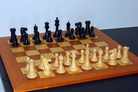 Indoor games and sports, Wood, Chess, Board game, Tabletop game, Line, Games, Chessboard, Black, Tan,