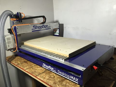 Build Furniture With The Push Of A Button On A Shopbot Cnc Router