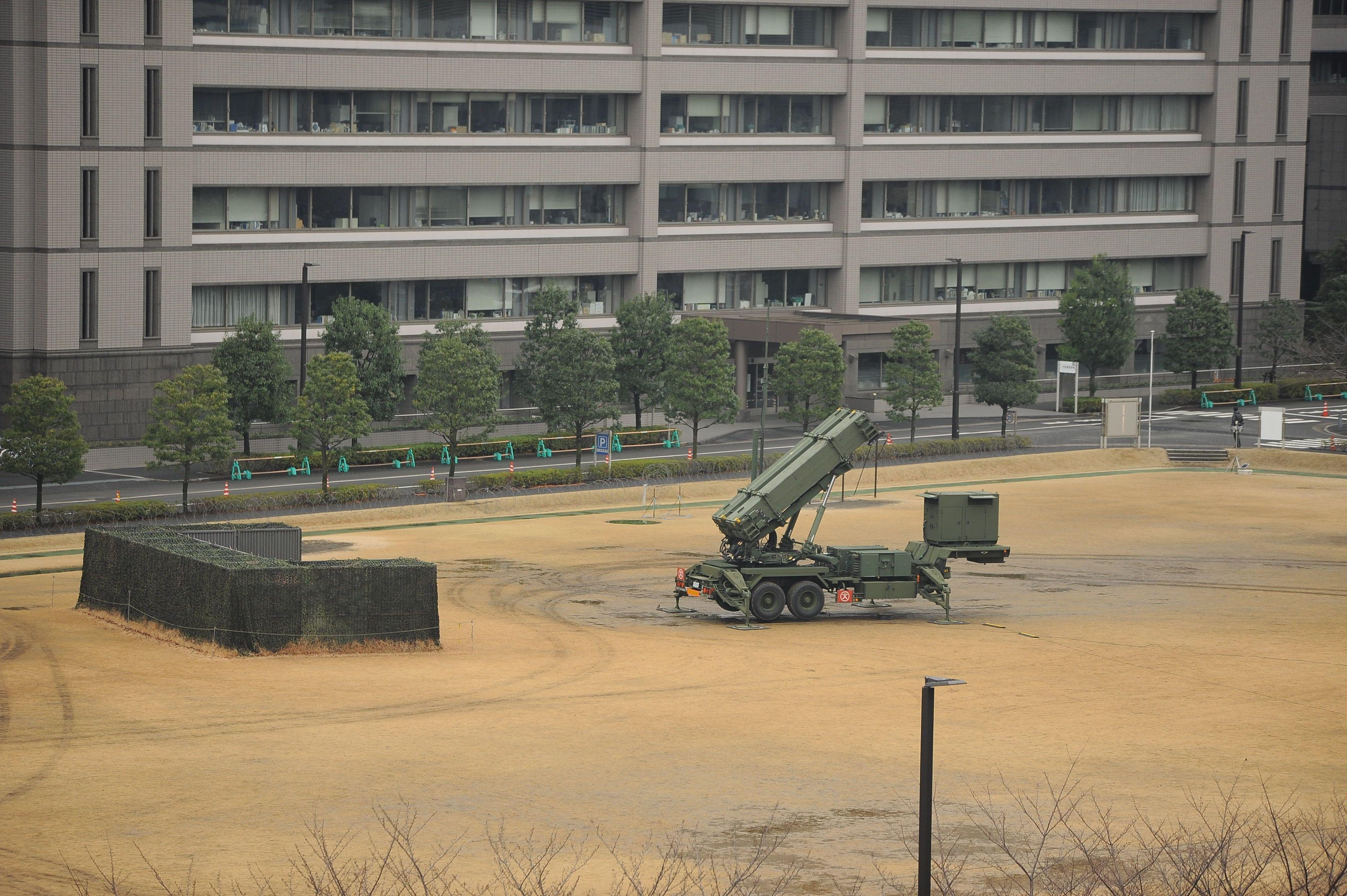 Japan Deploys Patriot Missiles in Downtown Tokyo