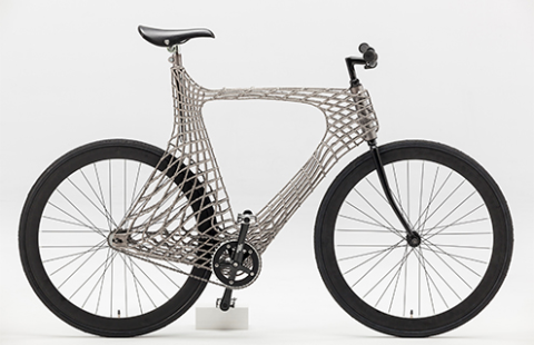 This Steel Bike Frame Was 3D Printed with a Robotic Welding Arm