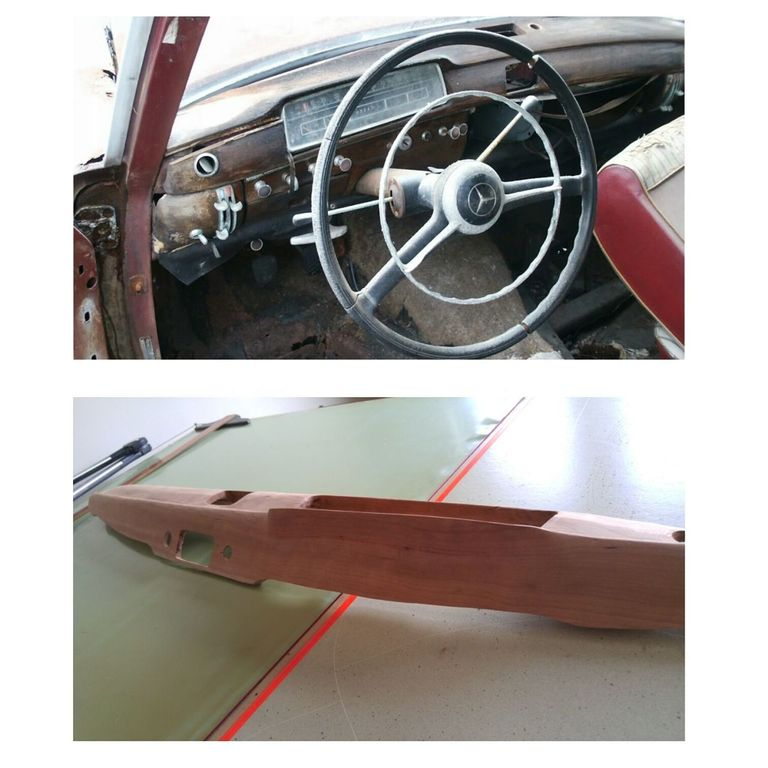 For A One Of A Kind Car Interior Go With Hand Built Wood