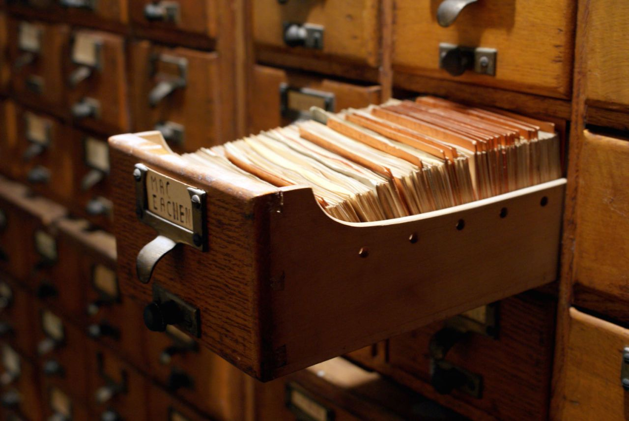 How the Humble Index Card Foresaw the Internet