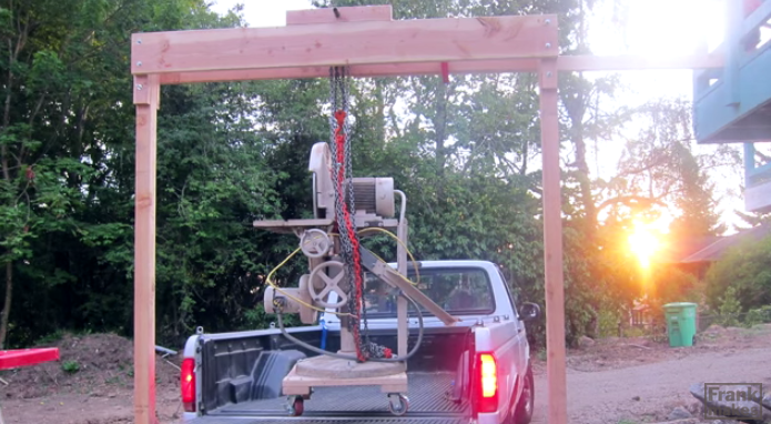 Homemade Wood Gantry Crane Plans - Homemade Ftempo