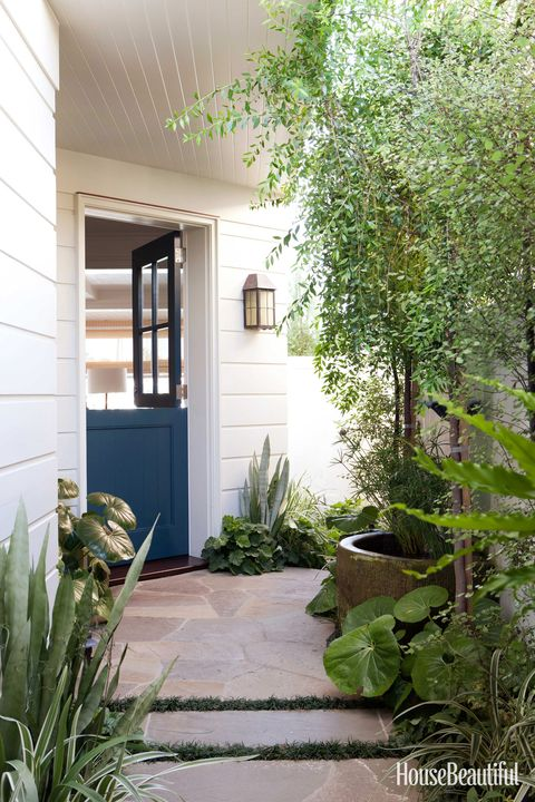 blue dutch door
