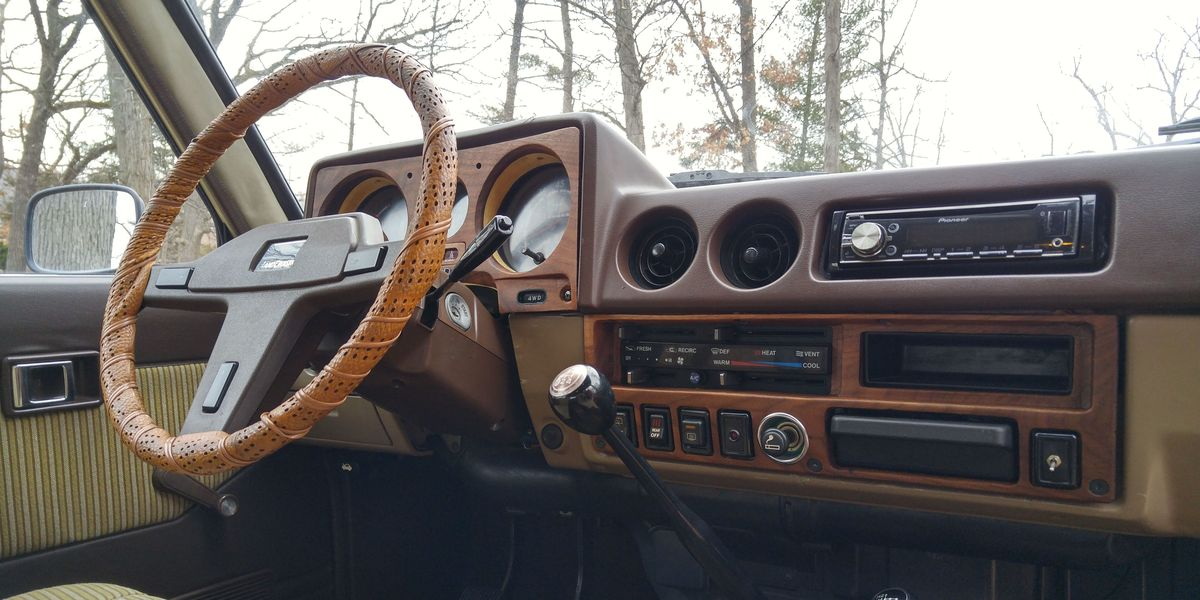 For a One-Of-A-Kind Car Interior, Go With Hand-Built Wood Paneling