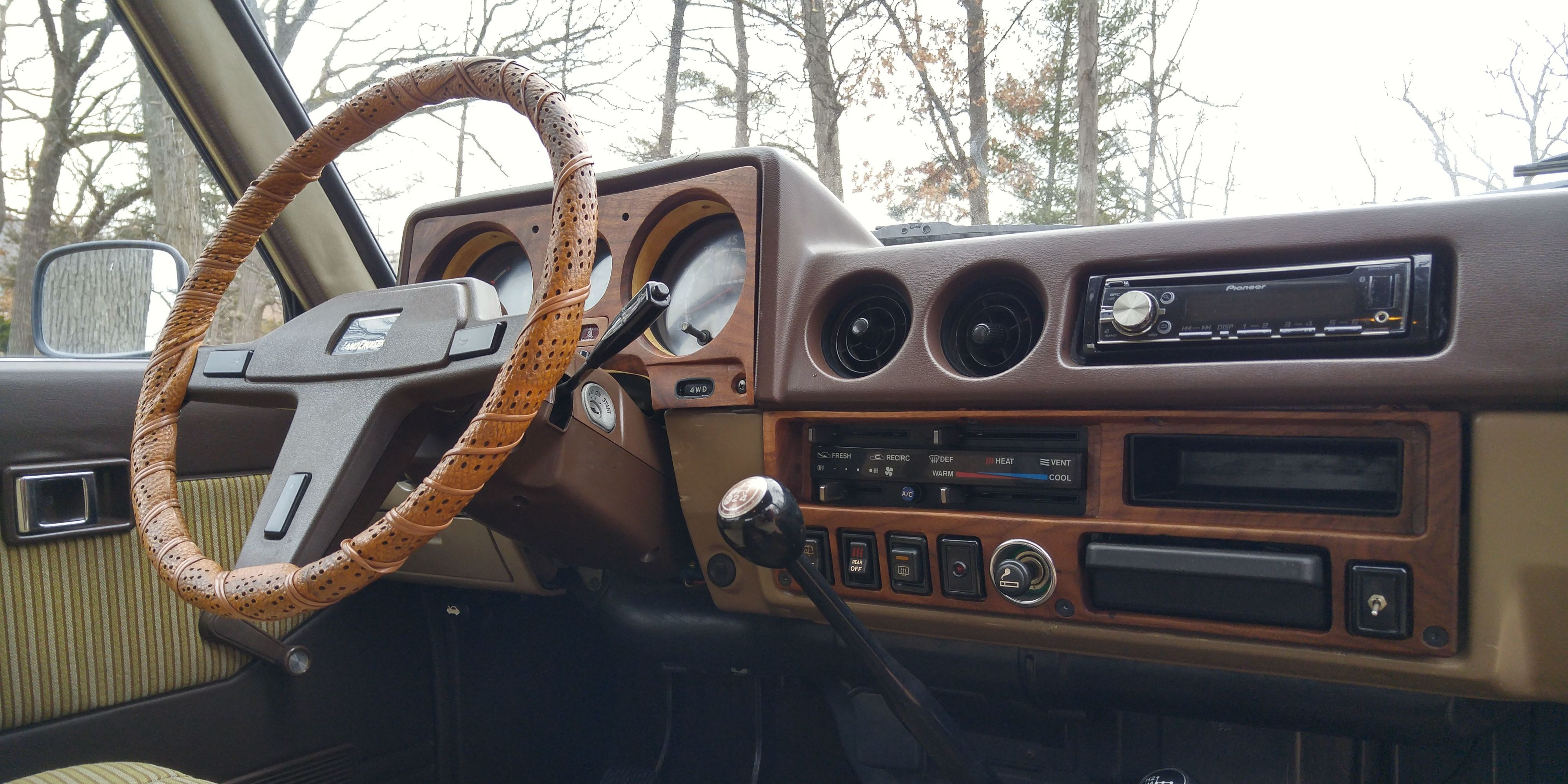 Wood Paneling Comes Standard In Many Luxury Cars And Is Sometimes An Option  If You Want To Pay Some Big Bucks. But What About Classic Cars And Trucks  That ...