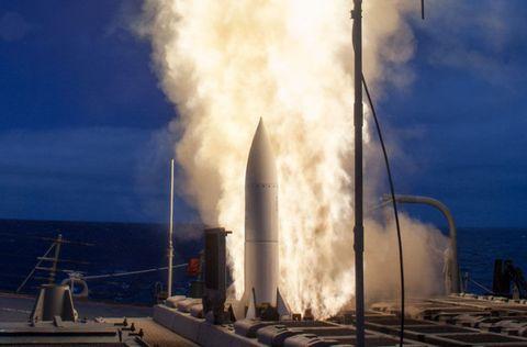 SM-6 Launch