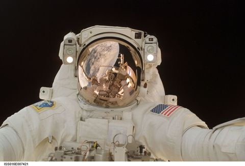 Space, World, Astronaut, Beige, Aerospace engineering, Astronomical object, Machine, Outer space, Science, Spacecraft,