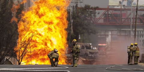 Event, Pollution, Road surface, Emergency service, Fire, Smoke, Emergency, Asphalt, Flame, Service,