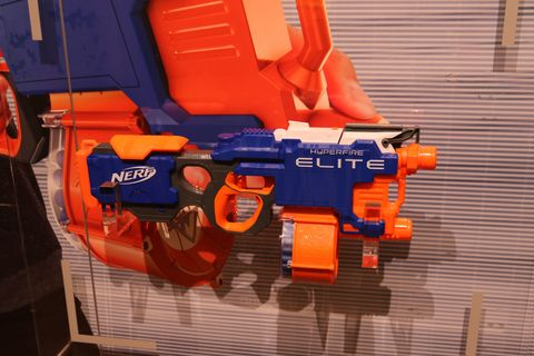 But the real stars of Nerf's new line—and the blasters I was personally  most stoked to fire—are the new guns in the Rival line, Hasbro's new line  of ...