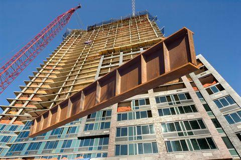 Architecture, Property, Facade, Real estate, Building, Apartment, Landmark, Tower block, Commercial building, Construction,