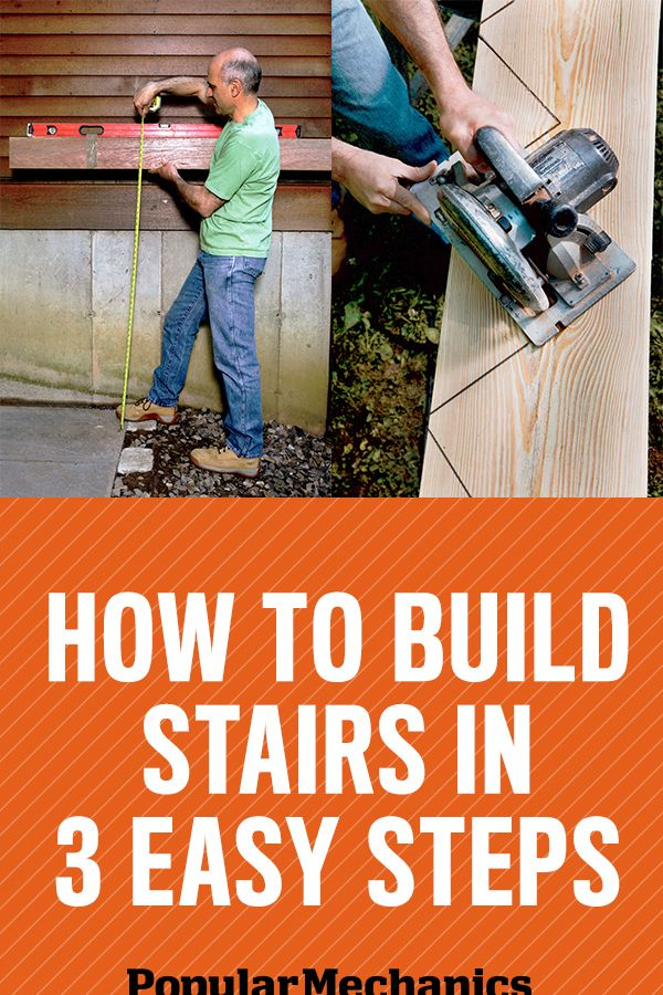 How To Build Stairs Stairs Design Amp Plans