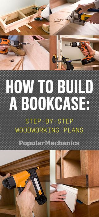 How To Build A Bookcase Step By Woodworking Plans