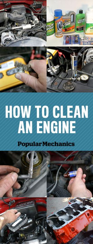 Engine Cleaning Diy Tips How To Clean An Engine Pictures