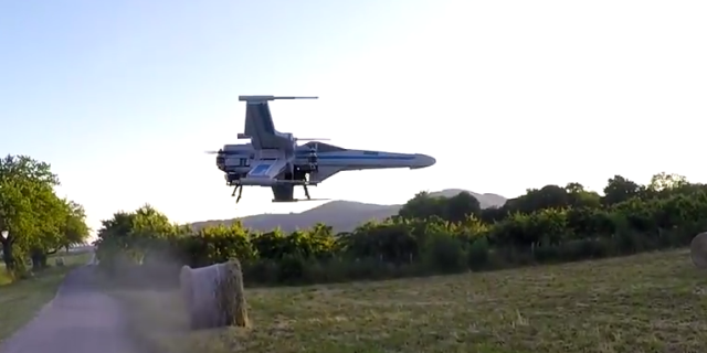 drones will guard the set of star wars episode viii