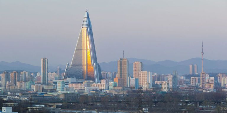 The World's Largest Abandoned Building Is the 'Hotel of Doom' in North Korea
