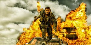 "<p><strong><em>Mad Max: Fury Road</em></strong><br></p><p>Though some skies were altered and stunt performers' cables were erased in postproduction, <em>Mad Max: Fury Road </em>emphasized practical effects. More than 150 vehicles were built for the shoot—and then destroyed. By the end of the film, ""we probably had only ten left,"" stunt coordinator Guy Norris says. On the heaviest stunt days, Norris would incorporate 150 stunt actors. His goal was controlled chaos. ""I designed the action so that it was like being in warfare,"" he says. ""When you're on the top of the tanker, even though the camera might be to the left-hand side seeing something happen, an entire battle is going on over to the right-hand side. We would develop sequences so that you could actually shoot it in one line."" All of that sophisticated stuntwork required some unsophisticated preparation: toy cars. ""We'd start out in the dirt with all of the drivers with a model car, and we would plan the whole run. It was like rehearsing a football play."" Only with a few more explosions.</p>"