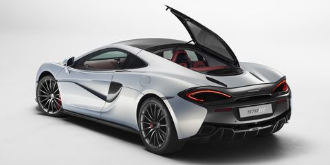 "<p>Take the excellent McLaren 570S, add a glass roof and large glass hatch, <a href=""http://www.roadandtrack.com/car-shows/geneva-auto-show/news/a28281/mclaren-570gt-first-look/"">and you have the 570GT</a>, a McLaren perfectly suited to grand touring. We can't wait to drive it.</p>"