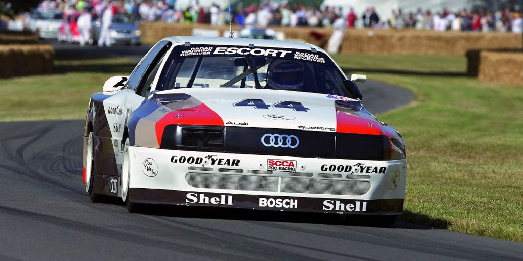 <p>Running against cars with more displacement, more cylinders, and more power, it didn't look like the Audi 200 Quattro had a chance. But what those cars didn't have was all-wheel drive. The Audi did, which helped it put more power to the ground and led to Audi completely dominating Trans-Am racing in 1988. To keep Audi from repeating that performance, the rules were changed to keep it from competing in 1989. </p>