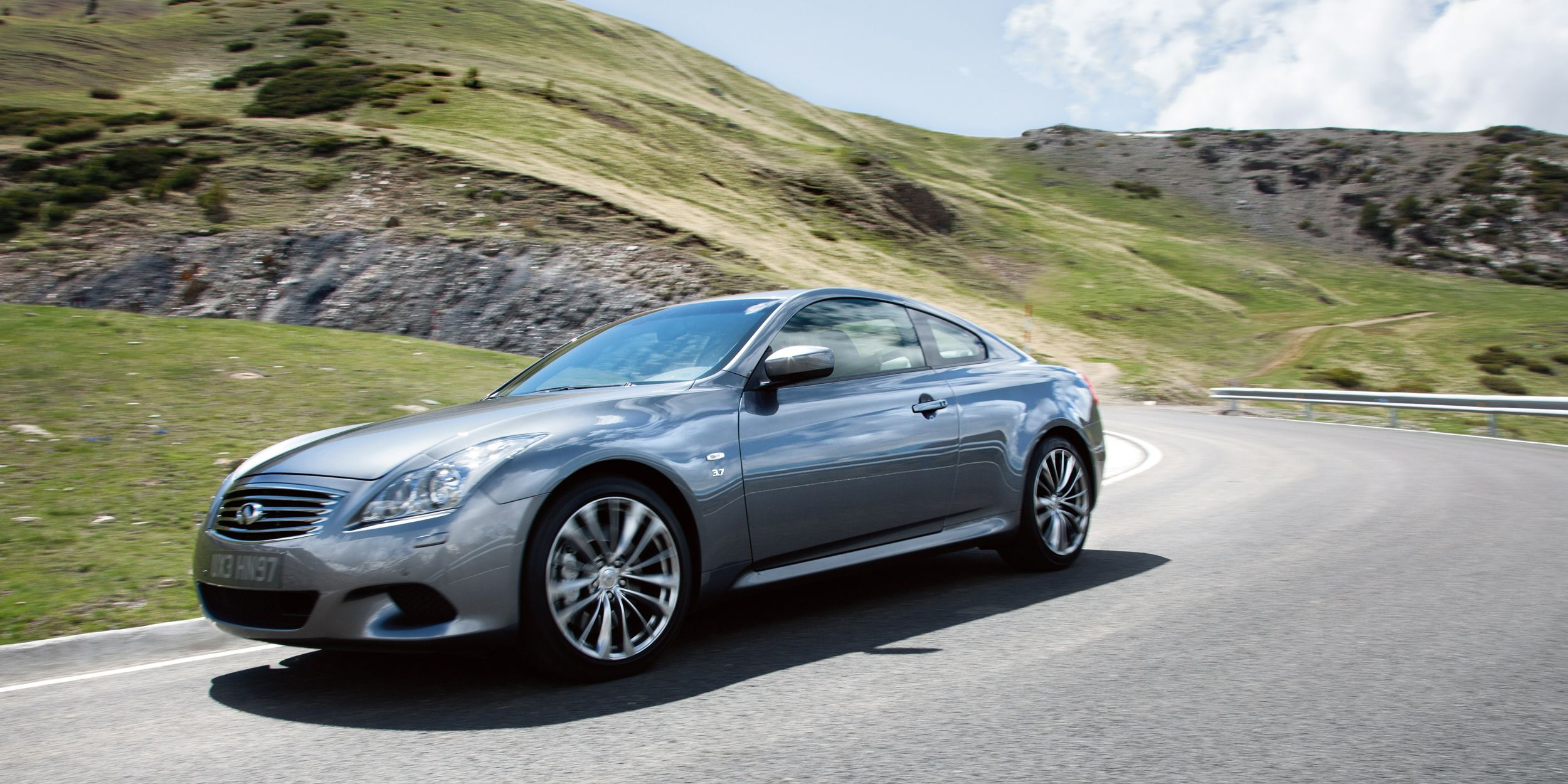 "<p>You can get the Q60S Coupe with a stick, as long as you select the 6MT or the Limited 6MT trim. You'll get the aging VQ <a href=""http://www.caranddriver.com/infiniti/q60"">3.7-liter V6</a> that's good for 330 hp and 270 lb.-ft. of torque. It's a RWD and sleek-looking, though it'll soon be discontinued and <a href=""http://www.roadandtrack.com/car-shows/detroit-auto-show/news/a27831/infiniti-q60-first-look/"">replaced with the new Q60</a>, which doesn't offer a manual option. Yet. . .</p>"