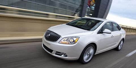 "<p>If you're thinking about getting a Buick Verano, be sure it's the Verano Turbo because that's the one that comes with a six speed manual at no extra cost. In addition to that, you get a <a href=""http://www.roadandtrack.com/new-cars/first-drives/reviews/a18456/2013-buick-verano-turbo-1/"">2.0-liter turbocharged engine that makes 250 hp</a>. </p>"