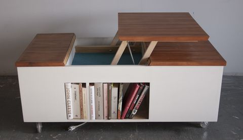 Build a Coffee Table That Doubles as a Work Station