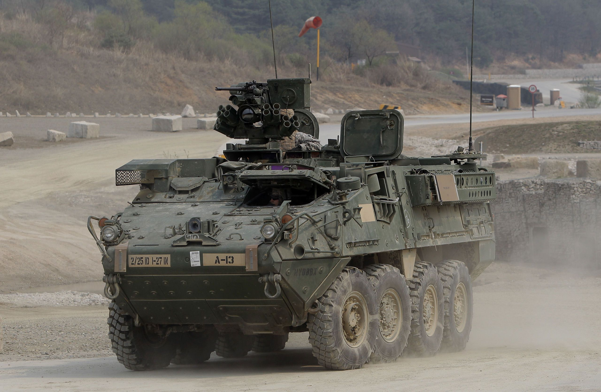 The Army's Fast Stryker Vehicles Get a Big Weapons Upgrade