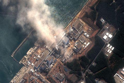 Fukushima from overhead