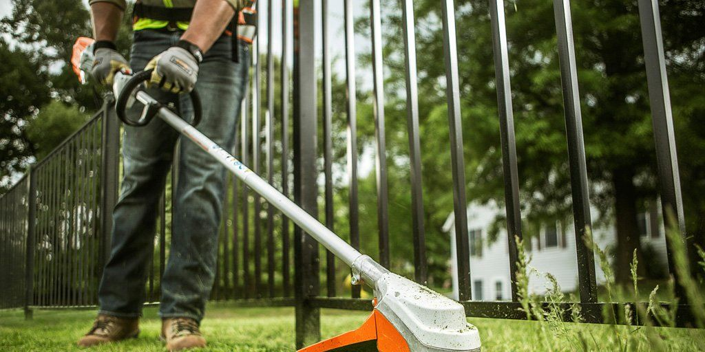 "<p>Stihl's<a href=""http://www.stihlusa.com/products/trimmers-and-brushcutters/professional-trimmers/fsa90r/""> FSA 90 R</a> weed trimmer uses a 36-volt lithium-ion battery to keep the weight down while delivering long run times. The tool weighs just 11.2 lbs., so it's easy to maneuver, and has a larger-than-normal 15-inch cutting width to complete jobs faster.</p><p>The battery, which can be used in other Stihl tools, runs quieter than a gas motor without the maintenance or exhaust. Users can still control the throttle speed, giving them the flexibility to throttle down when trimming around delicate plants. The Stihl comes with a hefty $350 price tag, though, so this professional-grade trimmer is for DIYers with large yards they've got to keep under control.</p>"