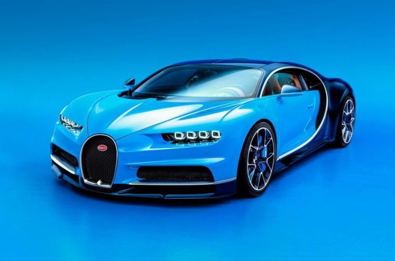 Here It Is, the 1500-Horsepower Bugatti Chiron