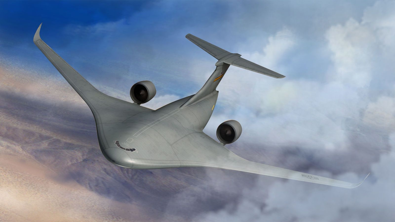 Lockheed's Hybrid Wing Body Plane Will Fly This Year, in Model Form