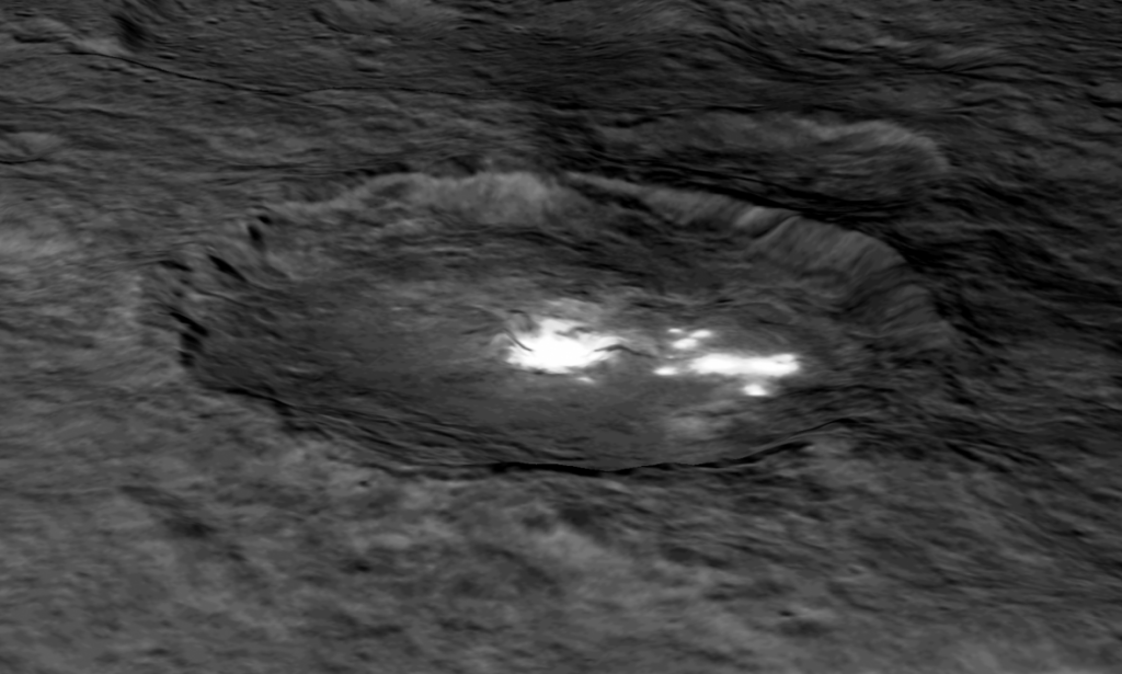The Bright Spots On Ceres Just Got Even Weirder