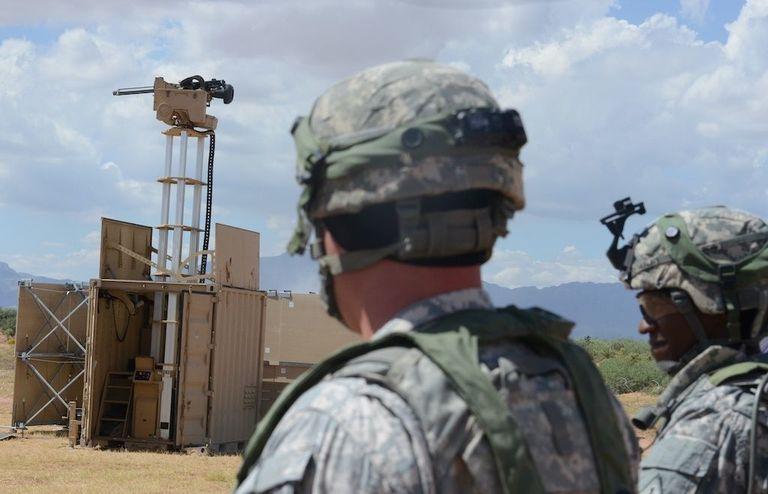 The Army Has A Deadly Machine Gun Firing Shipping Container
