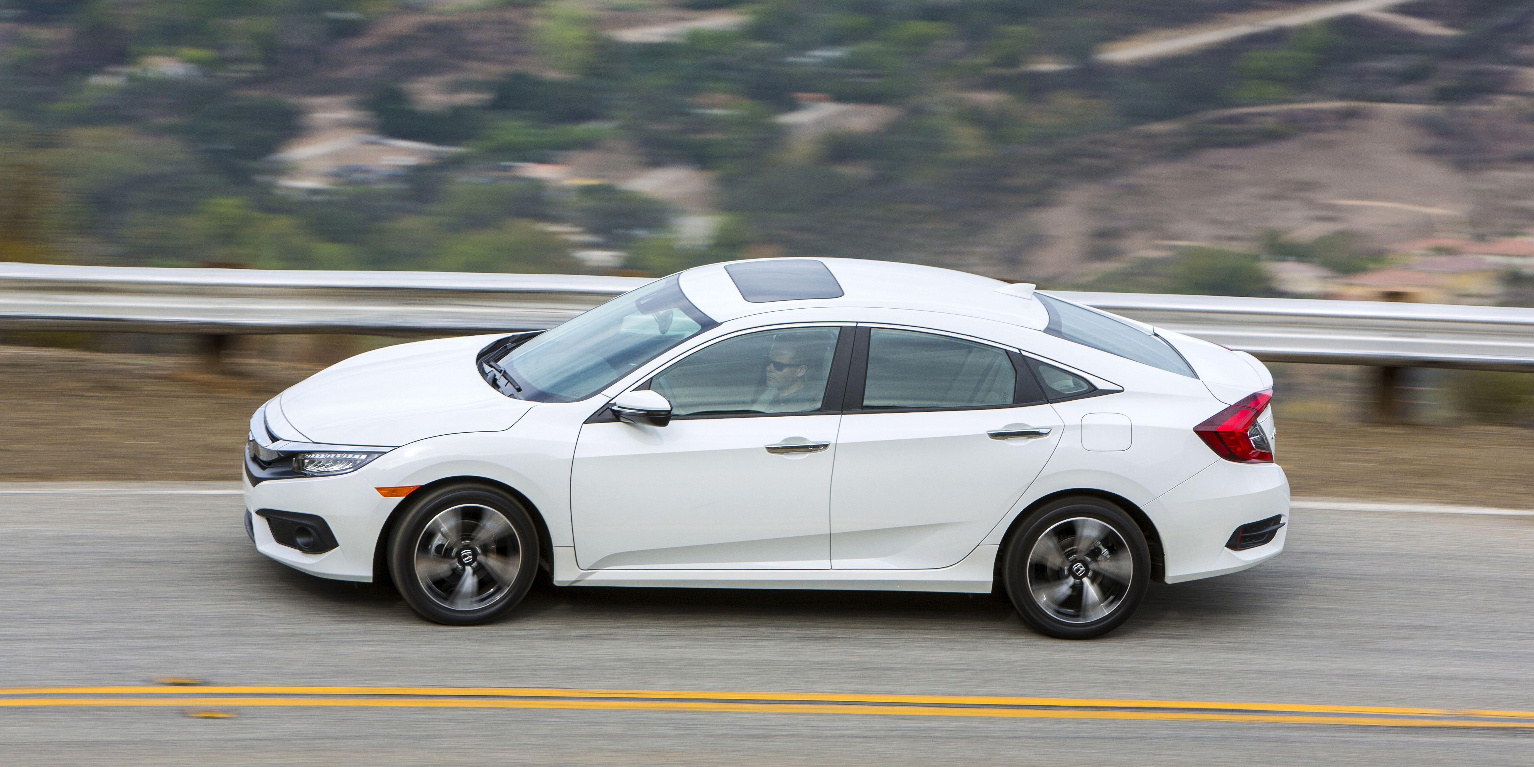 """<p>Compared to the outgoing Civic, <a href=""""http://www.roadandtrack.com/new-cars/first-drives/a26899/2016-honda-civic-first-drive/"""" target=""""_blank"""">the new one is better</a> by leaps and bounds. It's still a Honda, and people are still going to buy it in droves because of the badge on the hood. It will probably still be reliable, but it's also been injected with a dose of fun that we didn't expect. On a winding back road, even mainstream buyer won't be able to resist the new Civic's sporty charms.</p>"""