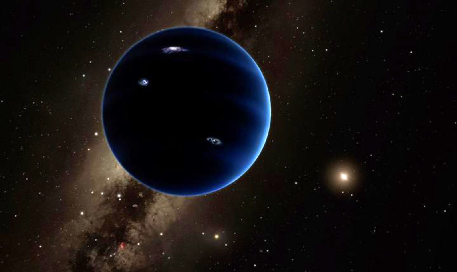 Mysterious Planet Nine May Be Responsible for the Planets' Weird Orbits