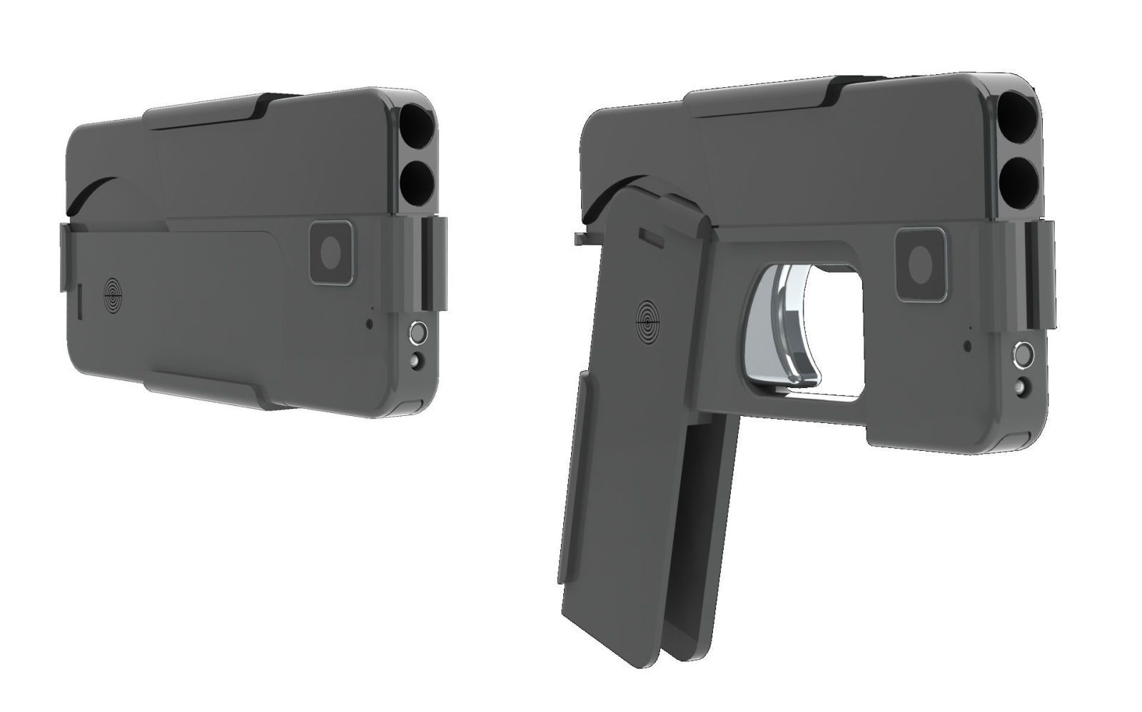 This Smartphone Gun Is One Hell of a Concealed Weapon