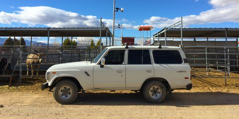 Project Build: Toyota Land Cruiser FJ62