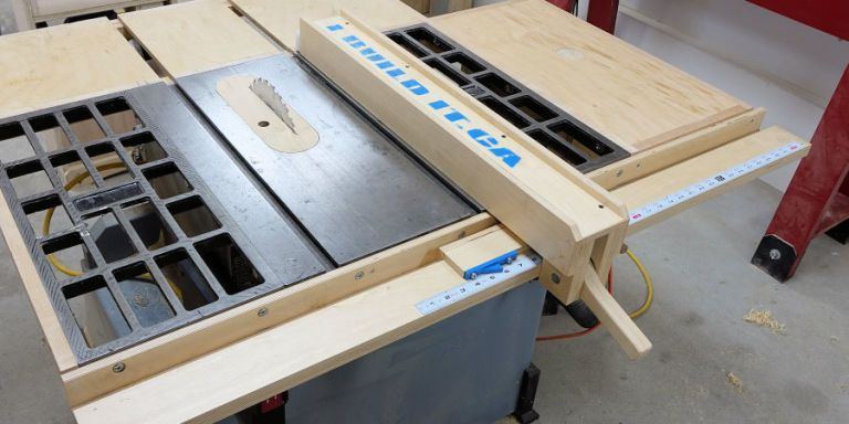 creative diy wooden table saw fence 15