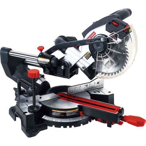 Craftsman S Clever Mini Miter Saw Takes The Same Blades As