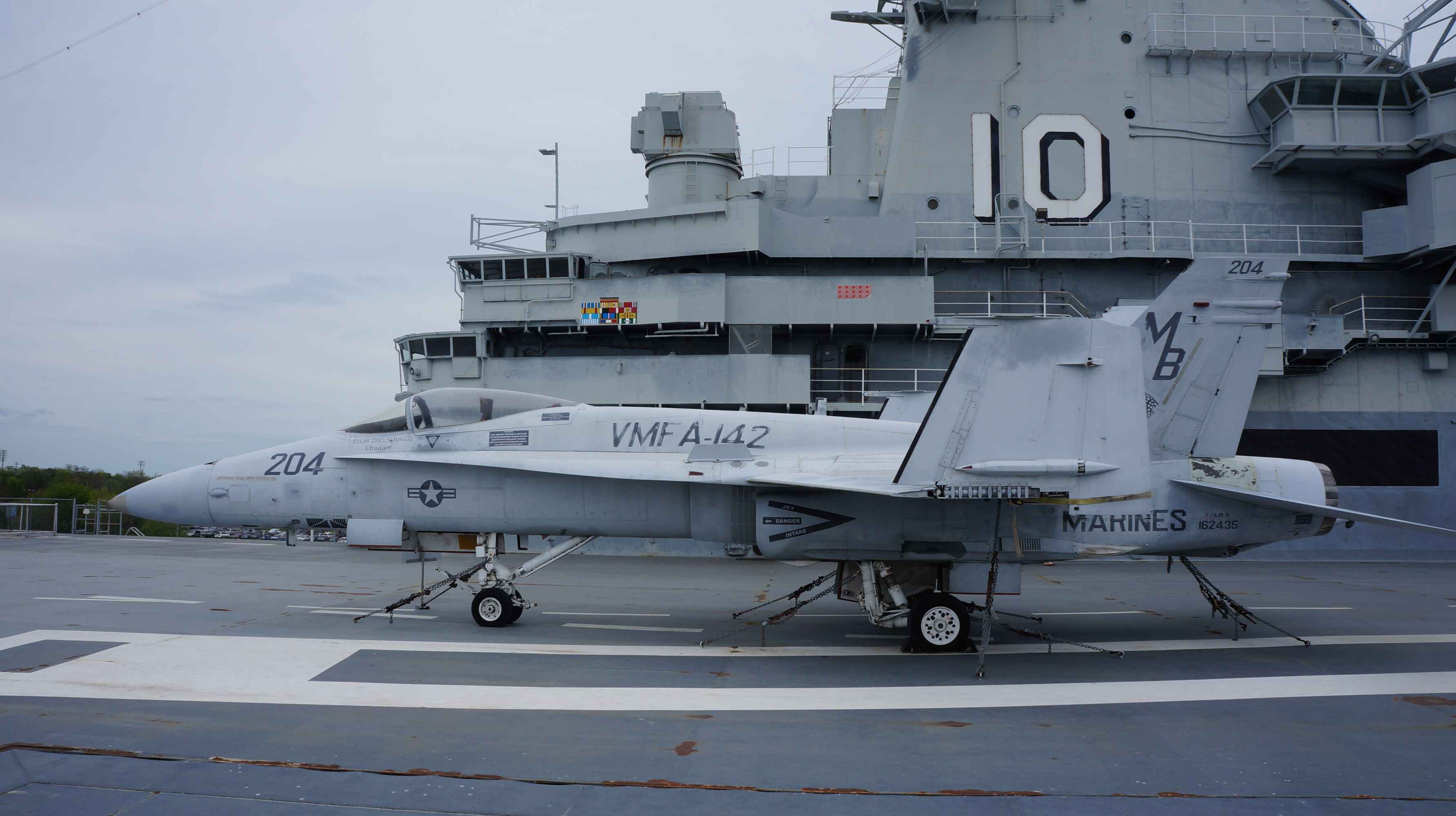Marines Had To Scrounge for F/A-18 Parts at a Museum